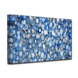 Ready2HangArt Arctic River Stones Canvas Wall Décor - 40-in - Blue