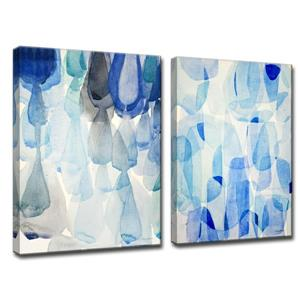 Down Pour & Heavy Rain Wall Décor Set - 60