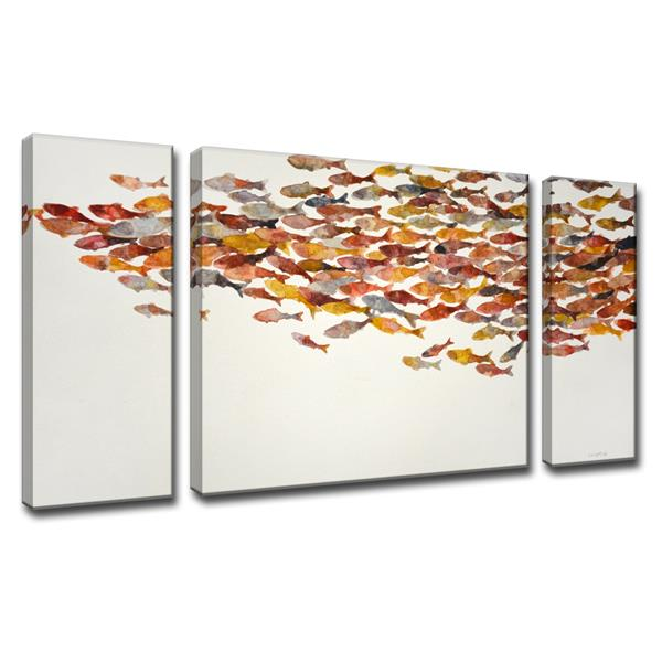 "Heatwave Canvas Wall Décor Set - 60"" - 3 Pcs"