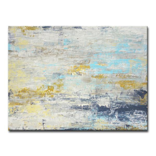 """Décoration murale sur toile «Surf and Sound», 40"""" x 30"""""""