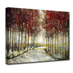Autumn Morning Drive Canvas Wall Décor - 40