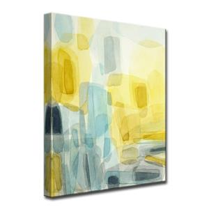 Décoration murale sur toile, soleil et pluie, 30