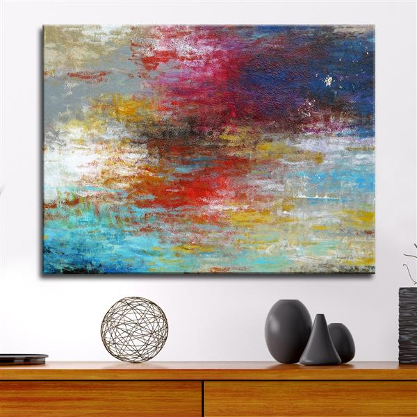 "Strange Currents Canvas Wall Décor - 40"" x 30"""