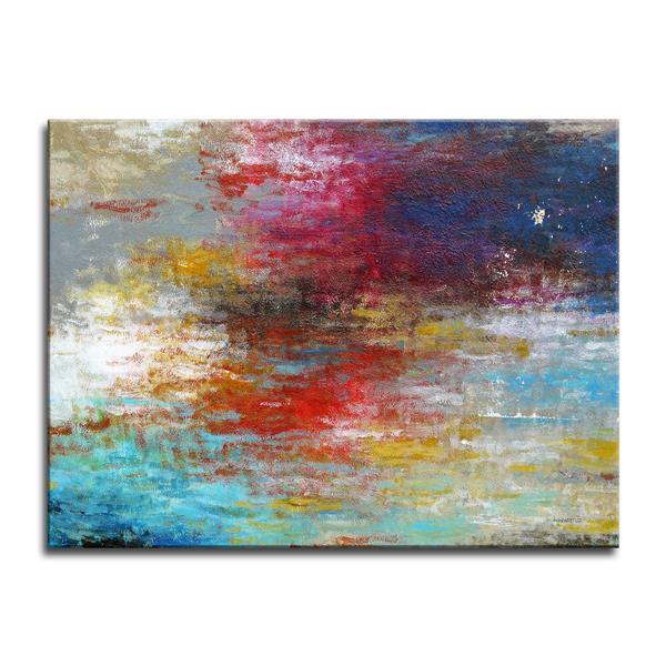 "Strange Currents Canvas Wall Décor - 40"" x 30"""