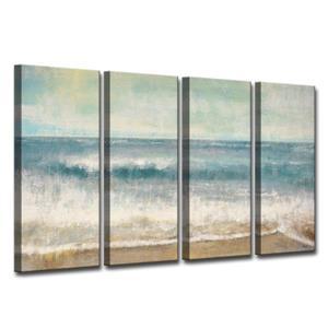Ens. d'art mural sur toile, plage, 48