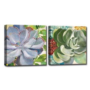 Brilliant Succulents Wall Art Set - 48