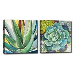 Brilliant Succulents Wall Décor Set - 48