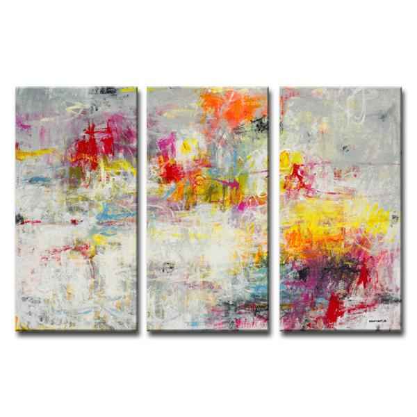Ready2HangArt Day in the Sun Canvas Wall Décor Set - 60-in - 3 Pcs