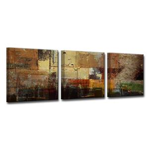 Abstract Canvas Wall Décor Set - 60