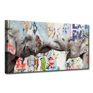 Elephant Canvas Wall Décor - 40