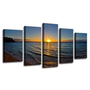 Sun Rise Canvas Wall Décor Set - 60