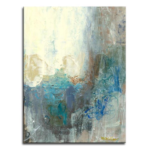 """Décoration murale en toile, regard extérieur, 30"""" x 40"""""""