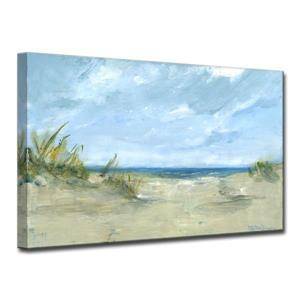 """Décoration murale sur toile «Sandy Shores», 40"""", bleu"""
