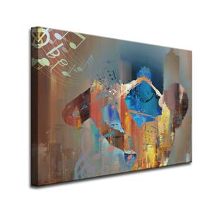 The Colour of Jazz Canvas Wall Décor - 40