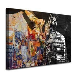 The Colour of Jazz II Canvas Wall Décor - 40
