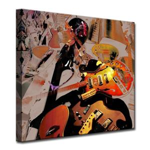 The Colour of Jazz Canvas Wall Décor - 30
