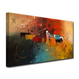 """Décoration murale sur toile, célébration, 60"""" x 30"""""""