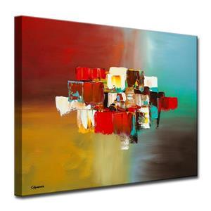 Décoration murale en toile, étendues limites, 40