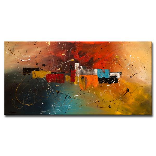 Ready2HangArt Celebration Canvas Wall Décor - 48-in x 24-in