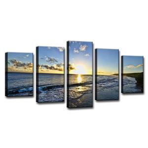 Day Break Canvas Wall Décor Set - 60