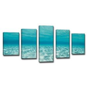 Crystaline Waters Wall Décor Set - 60