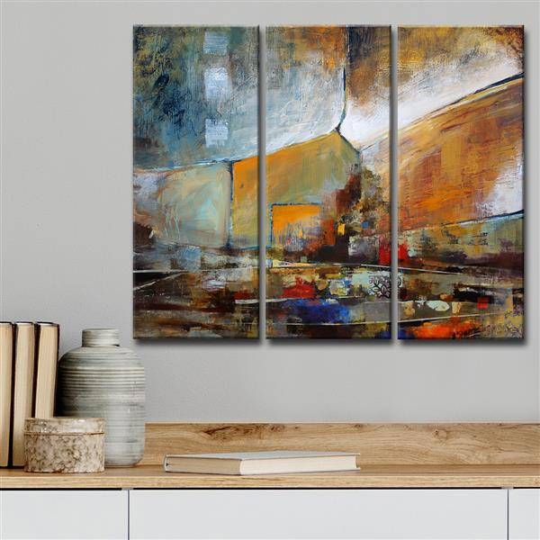 "Bueno Exchange Canvas Wall Décor Set - 60"" - 3 Pcs"