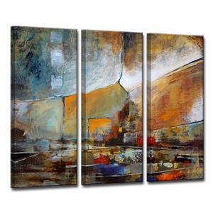 """Ens. d'art mural sur toile Bueno Exchange, 60"""", 3 mcx"""