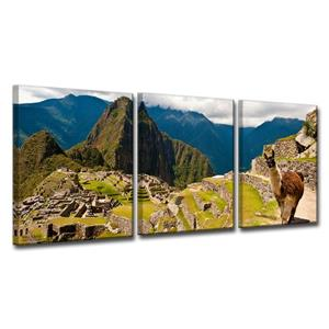 Machu Picchu Canvas Wall Décor Set - 48