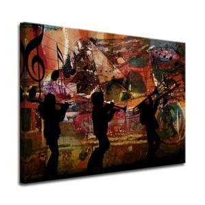 Jazz Trio Canvas Wall Décor - 40
