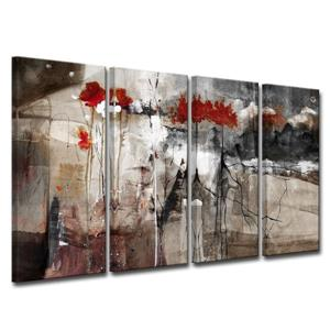 Abstract Canvas Wall Décor Set - 48