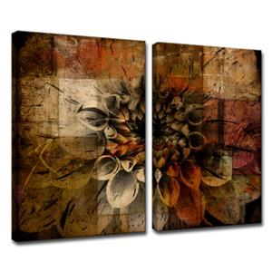 Daisy Canvas Wall Décor Set - 40