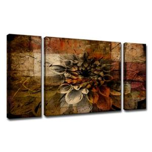 Daisy Canvas Wall Décor Set - 60