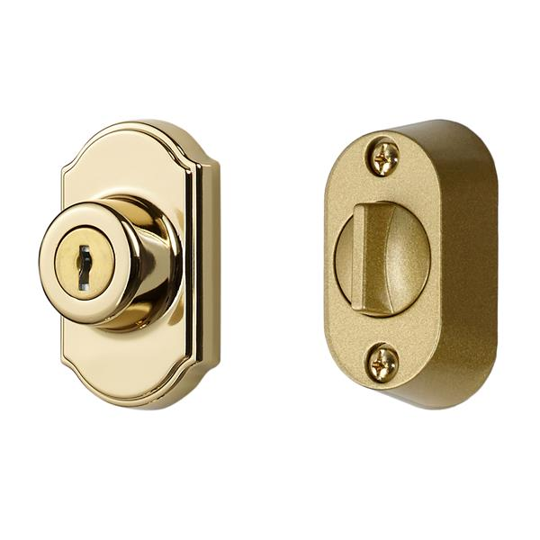 Keyed Deadbolt - Brass E-coat