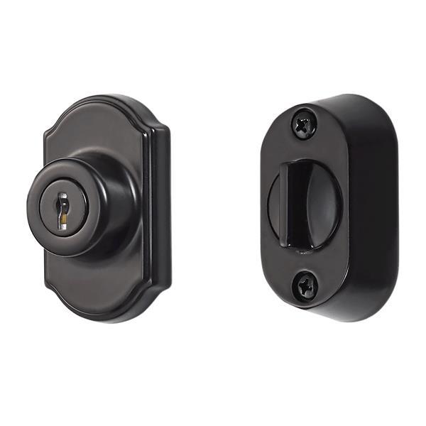 Ideal Security Keyed Deadbolt - Black