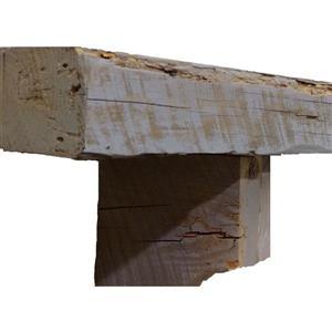 Tablette de cheminée Reclaimed Pine, 60