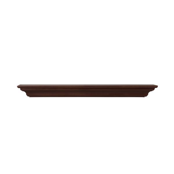 """Crestwood Mantel Shelf - 60"""" - MDF - Brown"""