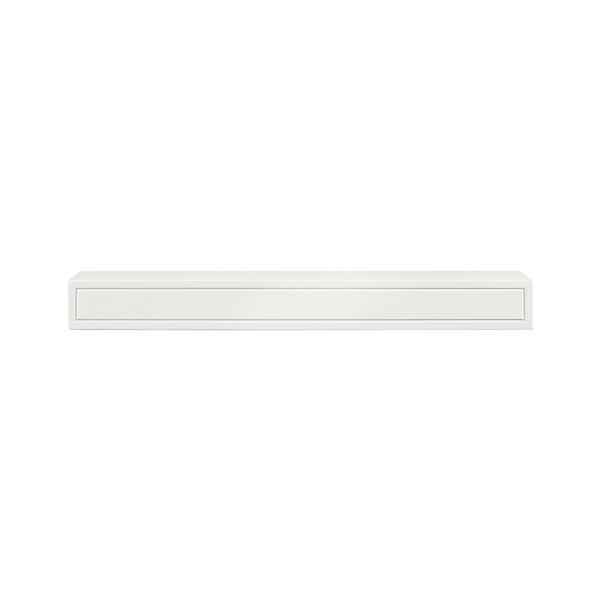 Pearl Mantels Sarah Mantel Shelf - 60-in - MDF - White