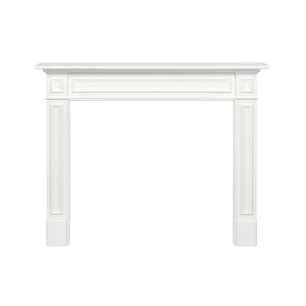 Pearl Mantels Mike Mantel Shelf - 64-in - MDF - White