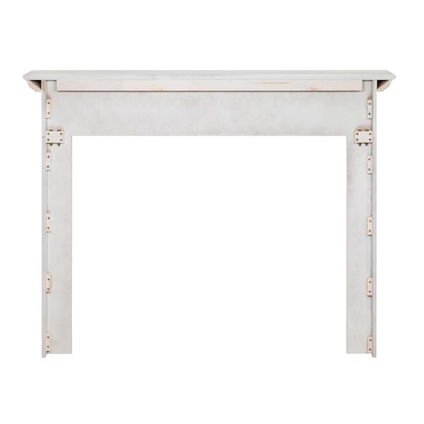 "Newport Mantel Shelf - 65"" - MDF - White"