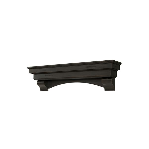 Pearl Mantels Celeste Mantel Shelf - 48-in - Wood - Brown