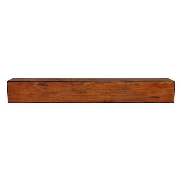 Pearl Mantels Lexington Mantel Shelf - 72-in - Wood - Brown