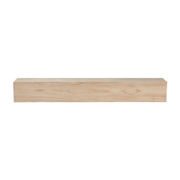 Pearl Mantels Lexington Mantel Shelf - 60-in - Wood - Natural