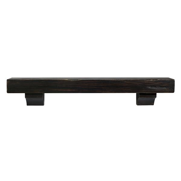 "Shenandoah Mantel Shelf - 60"" - Wood - Espresso"