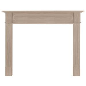 Pearl Mantels Alamo Mantel Shelf - 64-in - Wood - Walnut