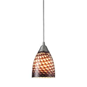 ELK Lighting Arco Baleno Pendant Light - 1-Light - 5-in - Satin Nickel