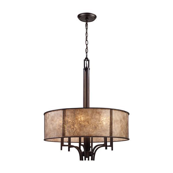 ELK Lighting Barringer Chandelier - 6-Light - Aged Bronze