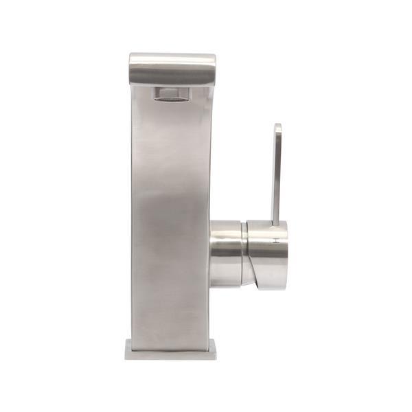 """Robinet de salle de bain «Priscilla», 7,6"""", acier inox"""