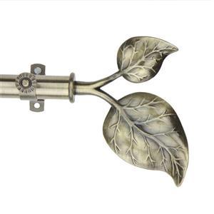 """Tringle à rideaux Ivy, 120-170"""", 13/16"""", laiton"""