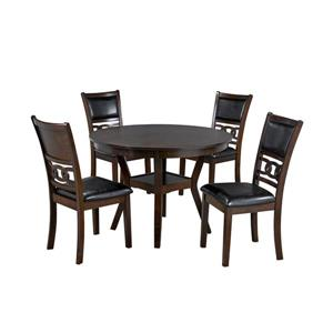 Brassex Tristan Kitchen Set - Wood - Espresso - 5 Pieces