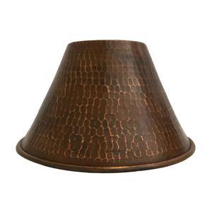 Premier Copper Products Cone Pendant Light Shade, 7-in, Copper